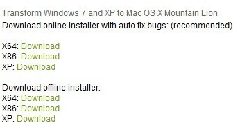 download mountain lion skin pack for windows 7
