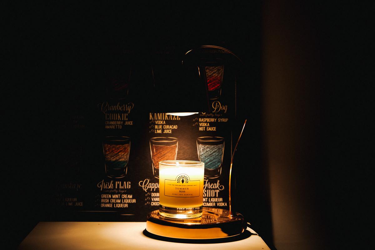 香氛蠟燭暖燈