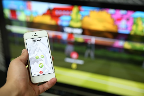 iPhone搭配APPLETV也玩体感游戏,Motio莓手机炒股黑图片